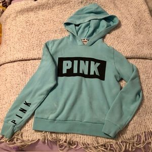 Pink Victoria's Secret hoodie size small